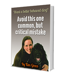Learn the first step to loving your dog's behavior!